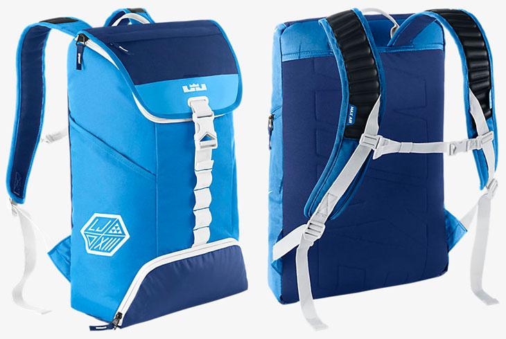 efa446432035 Nike LeBron Ambassador Max Air Backpack Blue White