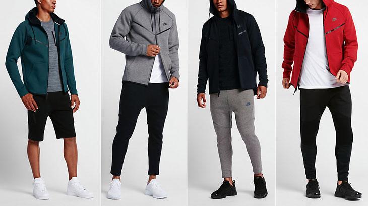 8e073c414a27 Nike Sportswear Tech Fleece Windrunner Hoodies Fall 2016 Colors ...
