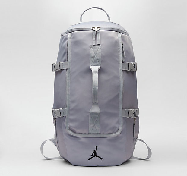 44f19abd5f8f Jordan Sportswear Top Loading Backpack Wolf Grey Black