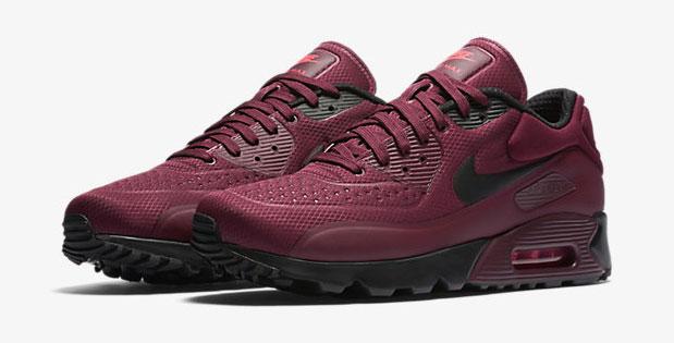 "low priced 015e0 9820b Nike Air Max 90 Ultra SE ""Night Maroon Black Bright Crimson"""