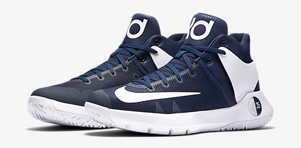 "timeless design b656c 644c4 Nike KD Trey 5 IV (Team) ""Midnight Navy White"""