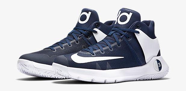 Nike KD Trey 5 IV Team Navy White  d09d59429