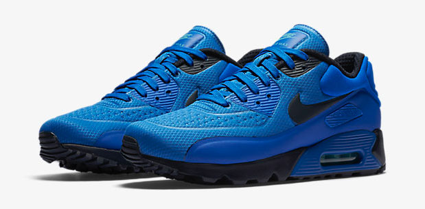"designer fashion 15986 52244 Nike Air Max 90 Ultra SE ""Hyper Cobalt Omega Blue Dark Obsidian"""