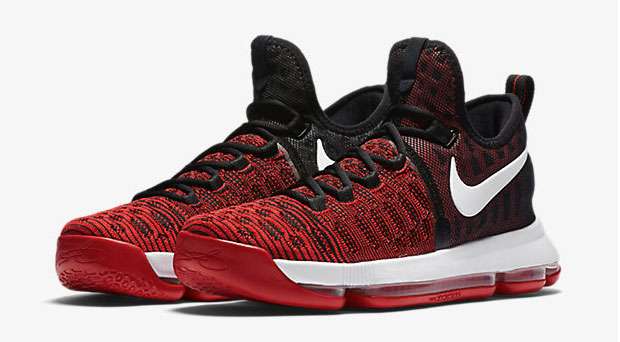 05ed9e58d64b ... france nike kd 9 red black white 1 e9664 c02ba