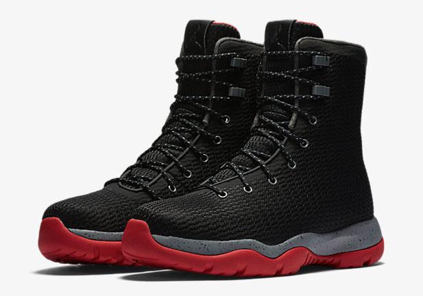 Jordan Future Boot Bred Black Red Grey  2bb53dddc