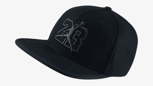 air-jordan-13-black-cat-snapback-hat-black- 99db00a7bcd