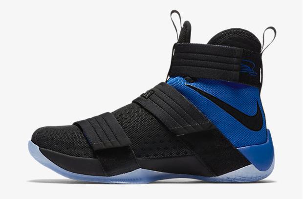 Nike LeBron Soldier 10 Black Royal Blue