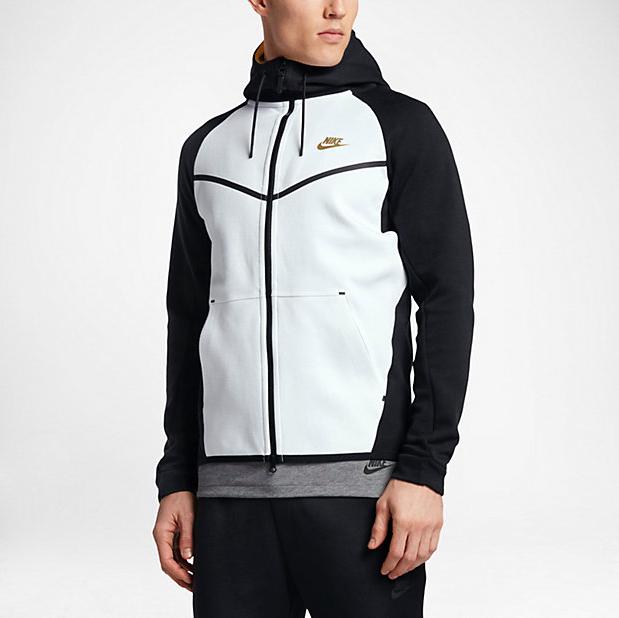 Nike Tech Fleece Windrunner Hoodie Black e