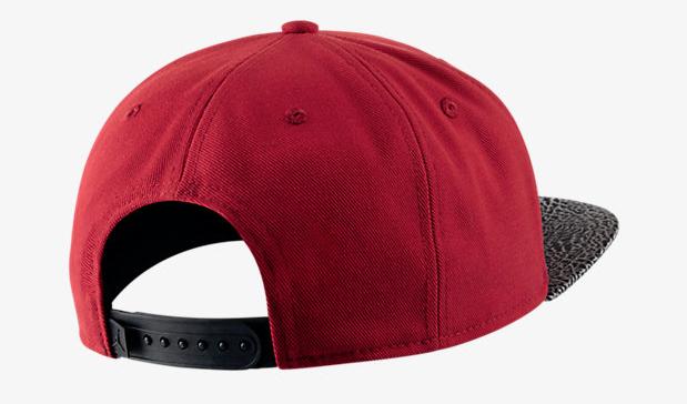 jordan-elephant-print-hat-red-2 72479cfc20a
