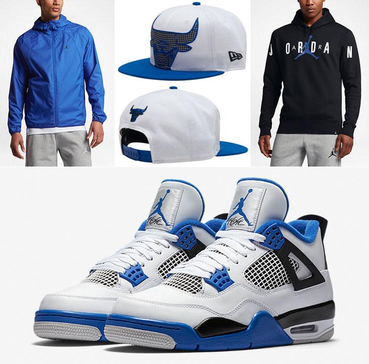 Air Jordan 4 Motorsport Clothing and