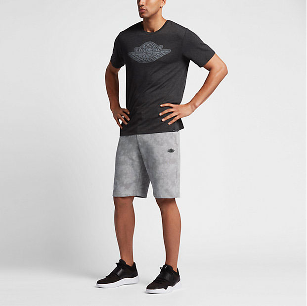 f49c16efee8b Jordan Fadeaway Shorts Silver