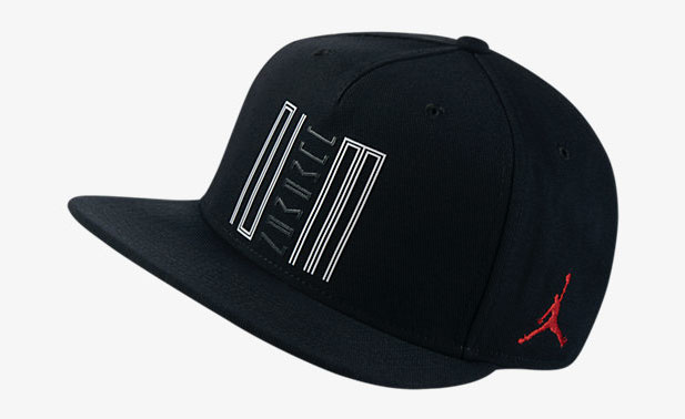 40b72b9497e5 Air Jordan 11 Low Snapback Hat (Black Gym Red)
