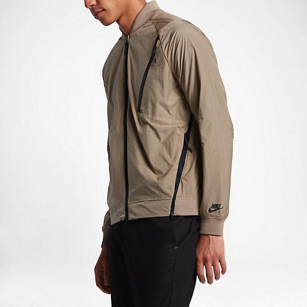 Nike Sportswear Tech Hypermesh Varsity Jacket |