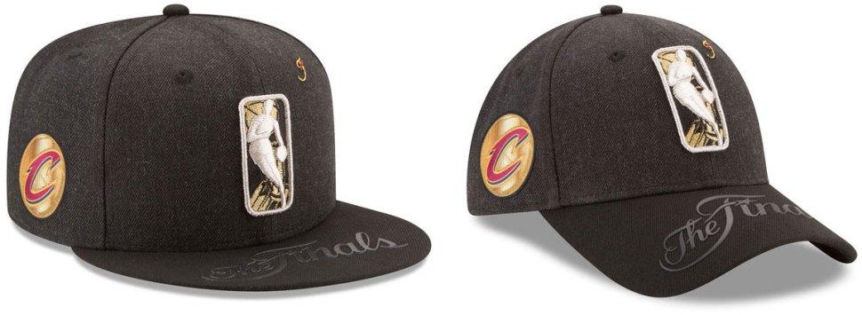 3302d11a7595b New Era Cleveland Cavs 2017 NBA Finals Bound Hats