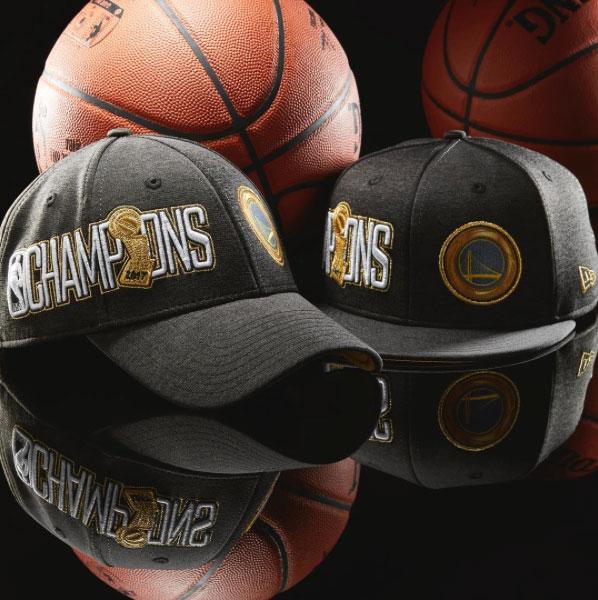 a57b11c2e2f New Era Golden State Warriors 2017 NBA Champions Hats