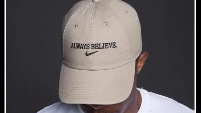 nike-lebron-always-believe-hat-tan 414498e855e