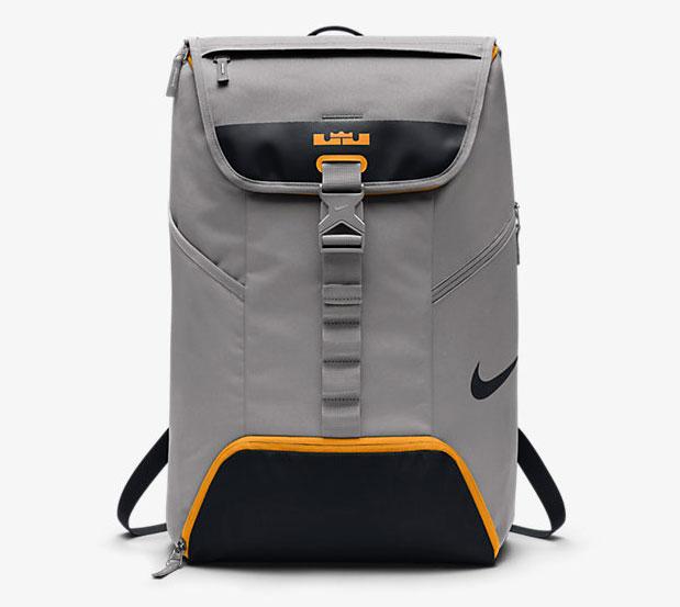 938368c2aa Nike LeBron Ambassador Max Air Backpack Grey Black Orange ...