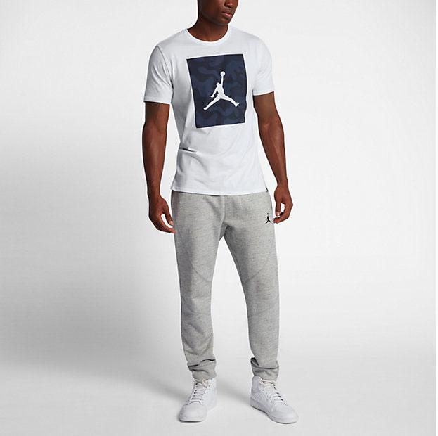 new arrivals 40f83 363c8 jordan-5-camo-p51-jumpman-shirt-white-2