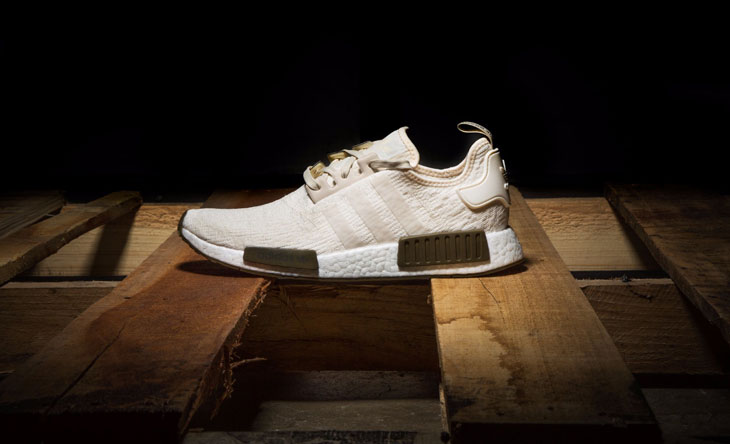 "8d4921c36912 adidas NMD R1 ""Chalk   Olive"" (Champs Sports Exclusive)"