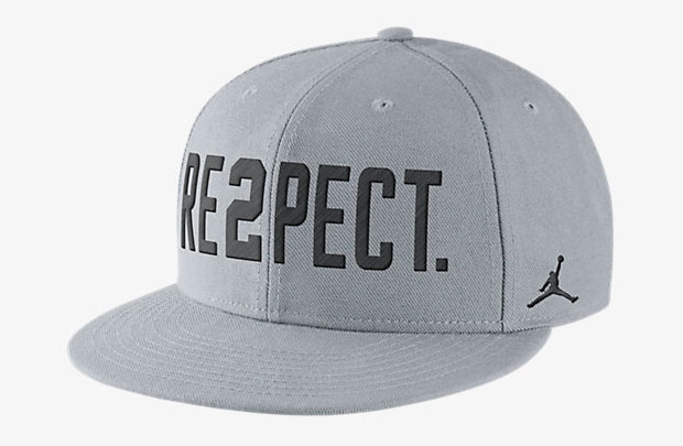 air jordan 1 black and white re2pect hat