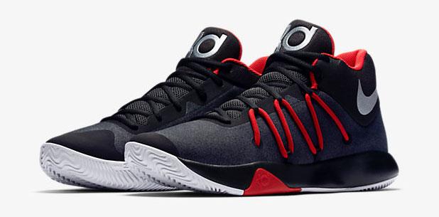 5fa28ebcc791 Nike KD Trey 5 V Black Red Chrome