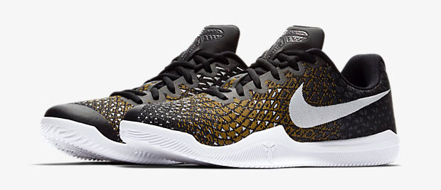 cd96fb0bb012 Nike Kobe Mamba Instinct Black Grey Yellow White