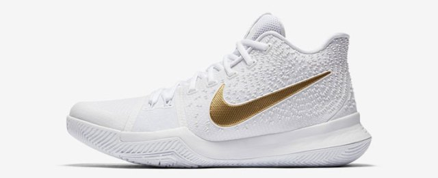 factory price fdcf8 8d5f3 Nike Kyrie 3 Finals White Gold   SportFits.com