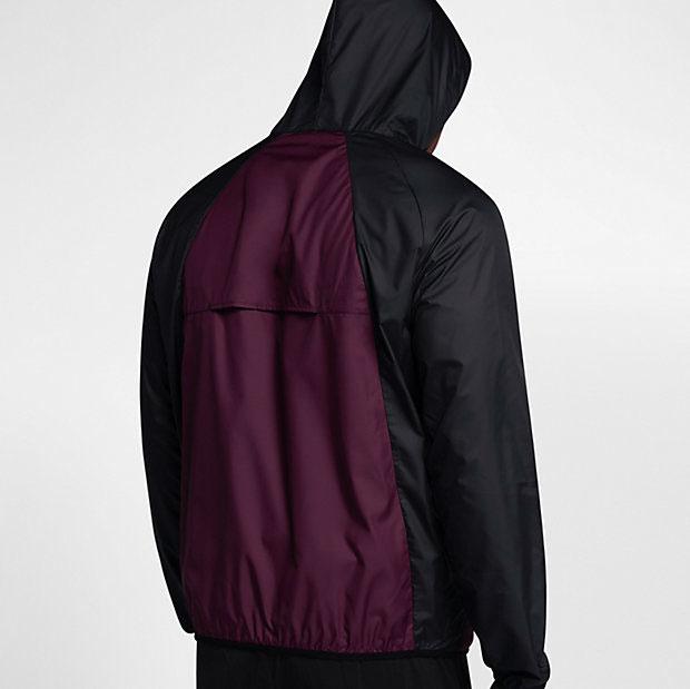 4ab03398dce Jordan Bordeaux Windbreaker Jacket | SportFits.com