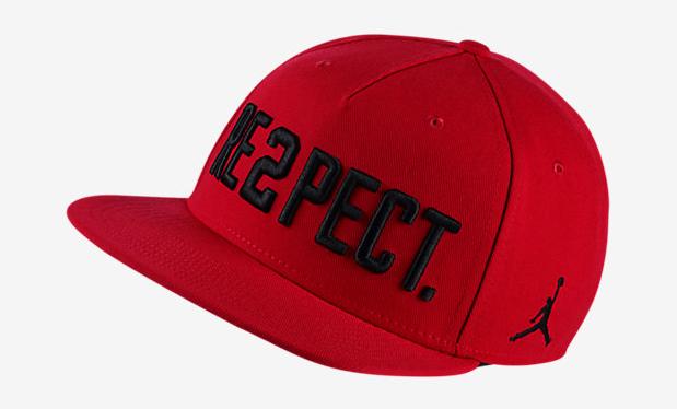 Jordan RE2PECT Hat Red Black  044ccb317e8