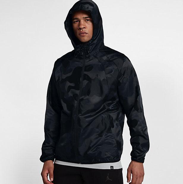 c115cef347710c Jordan Sportswear Wings Camo Windbreaker Jacket (Black)