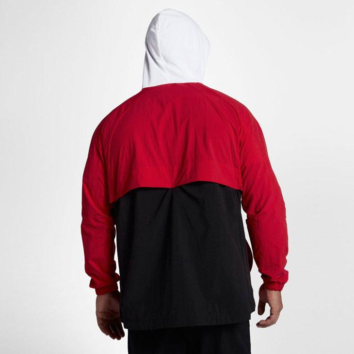 ceb6783414f4 Jordan Wings Anorak Jacket Red White Black