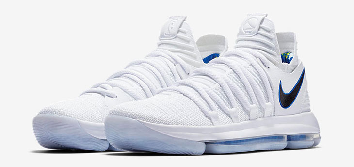 """217be2462d63 Nike KD 10 """"Golden State Warriors"""""""