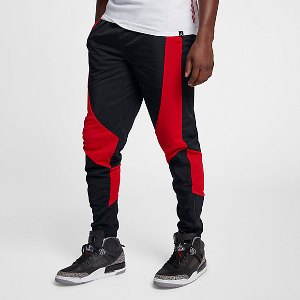 dcaacbcfa6e real jordan sportswear jumpman mens tricot pants main container image 1  e60b7 1ce21; real air jordan 1 wings bred pants 1 66049 bab8d