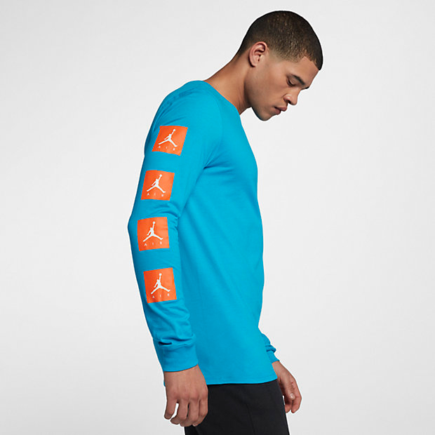 41917fb117f0 jordan-like-mike-blue-gatorade-long-sleeve-shirt-