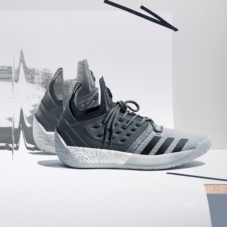 adidas Harden Vol 2 Concrete Grey