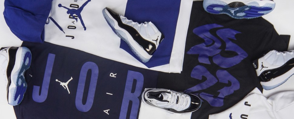 59f25f74115d Air Jordan 11 Concord Clothing and Hats