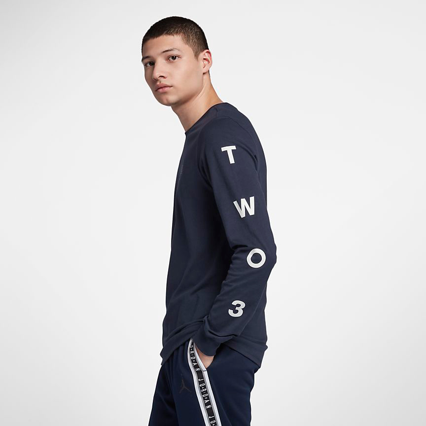 10102b04a3e Air Jordan 12 International Flight Clothing | SportFits.com