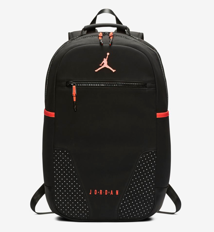 Air jordan black infrared backpack jpg 880x955 White red air jordan backpack 72ae5efca317f