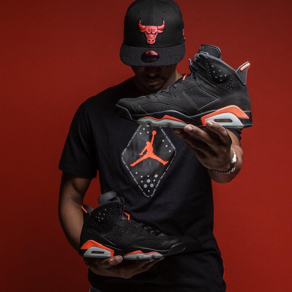 98e936e5a0c9 air-jordan-6-black-infrared-shirt-hat-match
