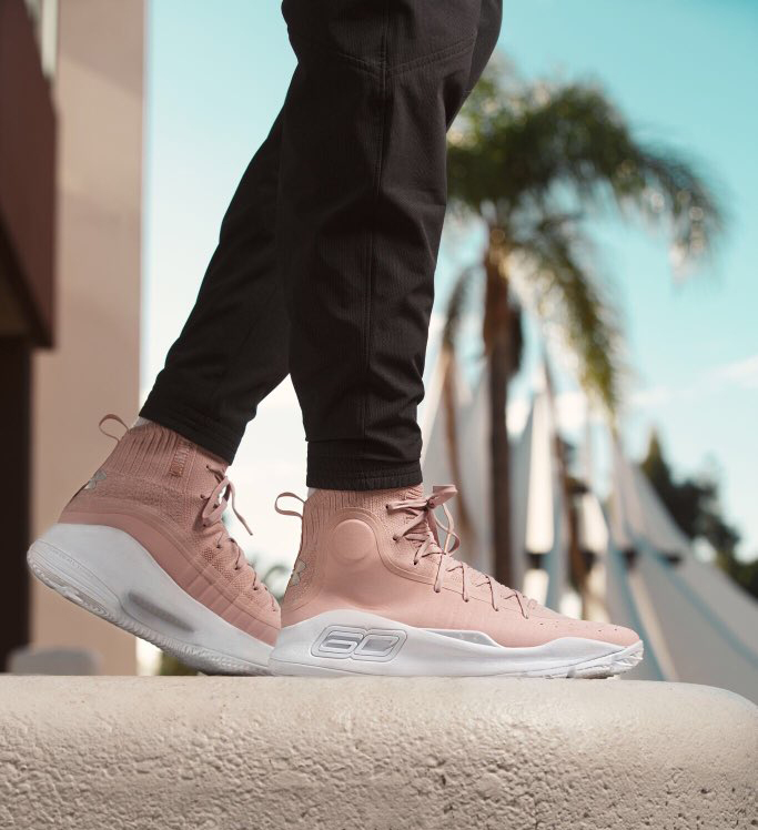 "d033e913217c Under Armour Curry 4 ""Flushed Pink"""