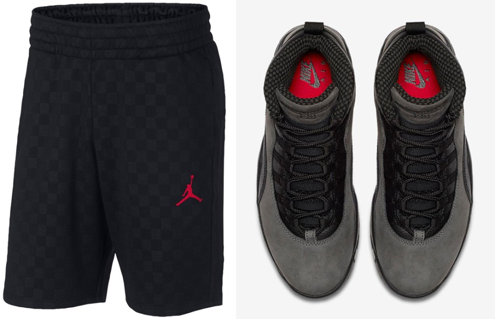 93da5a43ed5abc Air Jordan 10 Dark Shadow Shorts