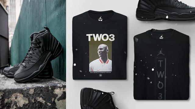 Air Jordan 12 Winterized Shirts Hoodie