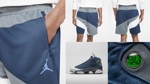 Air Jordan 13 Flint 2020 Shorts Sportfits Com