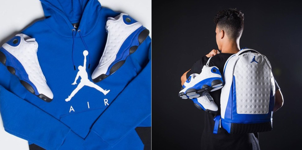 9a08ceb9c51 Air Jordan 13 Hyper Royal Clothing and Gear | SportFits.com
