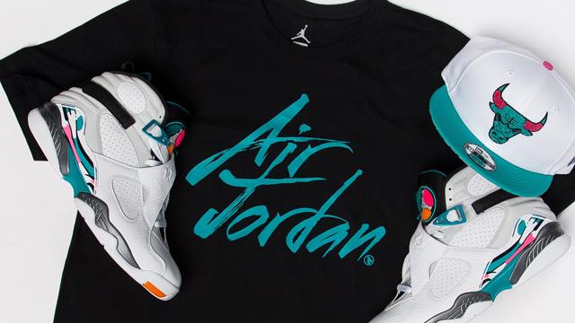 Air Jordan 8 South Beach Clothing