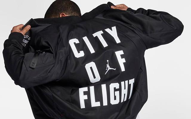 Jordan city of flight jacke