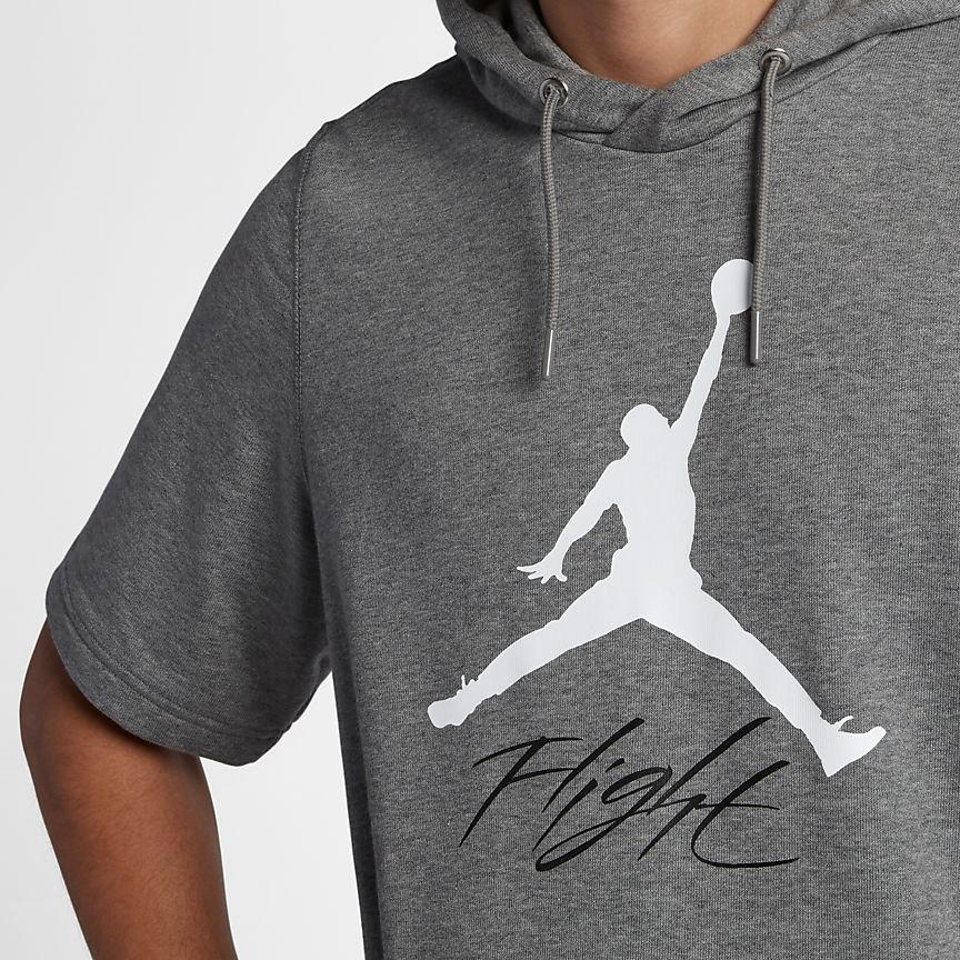 893817099e01 jordan-jumpman-flight-short-sleeve-hoodie-grey-3