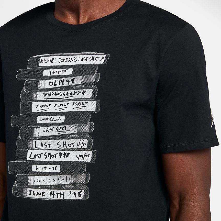 882440d95dc Air Jordan 14 Last Shot T Shirt | SportFits.com