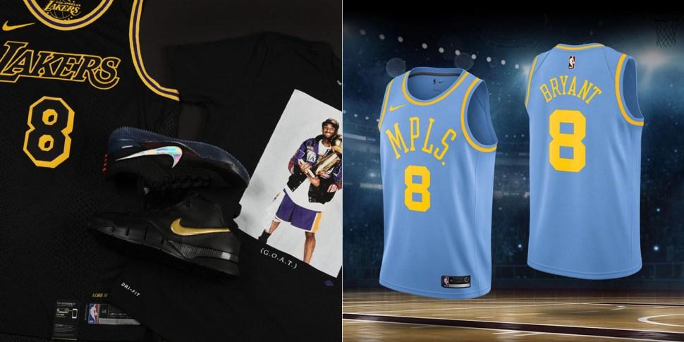 6a6db8d96ae Nike Kobe Mamba Day 2018 Shirts and Jerseys | SportFits.com