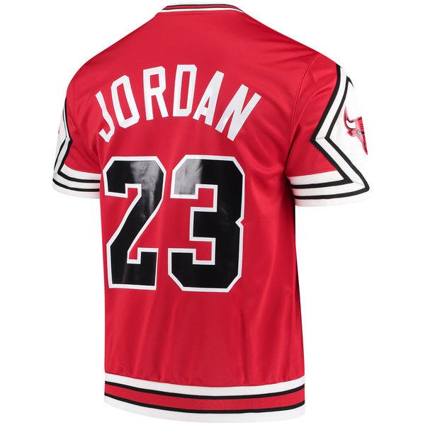 23fe45830c97 Michael Jordan Bulls Mitchell Ness Shooting Shirt